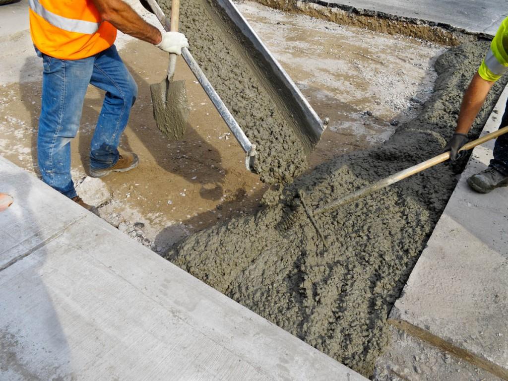 Бетон плавск листва бетон