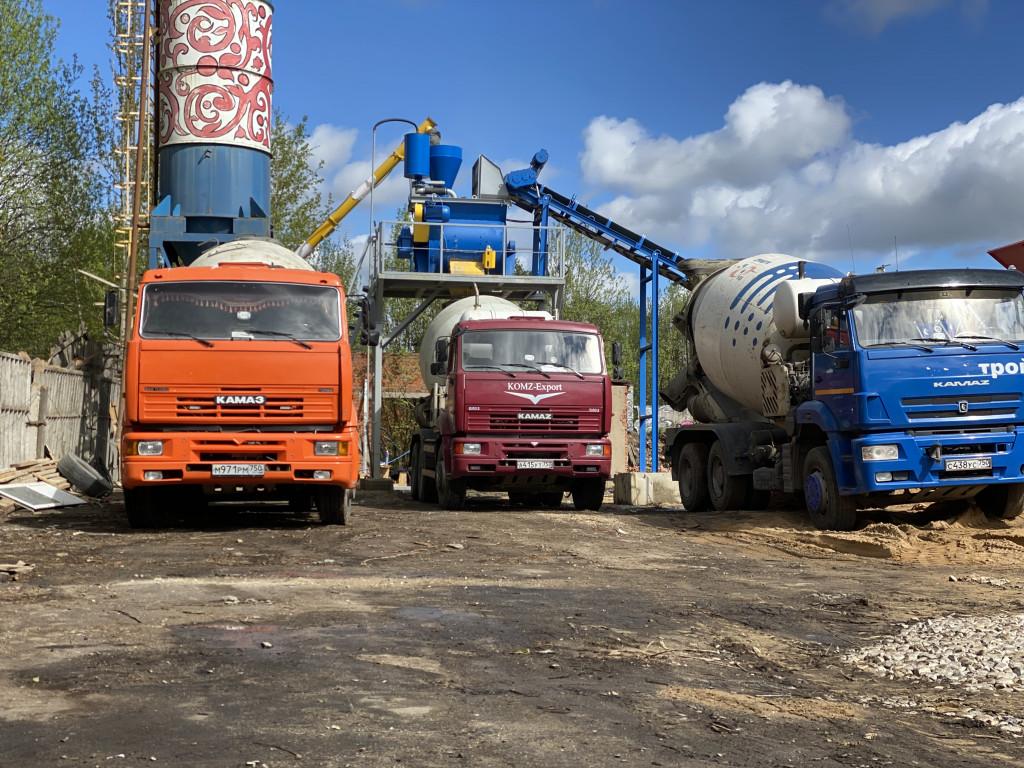 бетон в волоколамске купить с доставкой