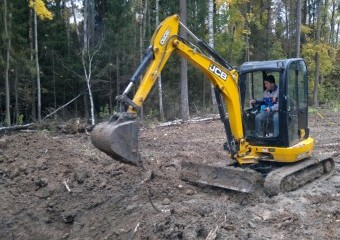 Аренда Миниэкскаватор + бур!Оперативно и Недорого! JCB / BOBCAT / HITACHI
