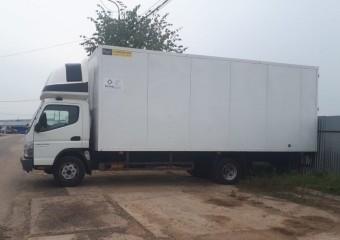 Грузоперевозки услуги*заказ фургон изотермический Mitsubihi Fuso