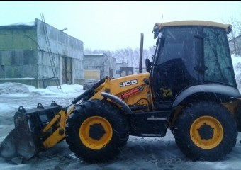 Аренда экскаватора погрущика JCB 3 CX super