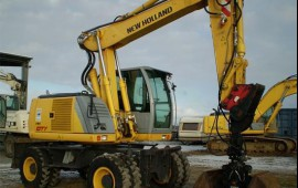 Колесный грейфер New Holland MH CITY