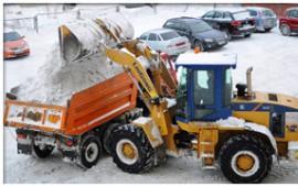 Уборка и вывоз снега в Кирове. Круглосуточно