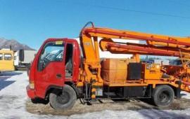 Услуги авто-бетононасоса 15-42 м