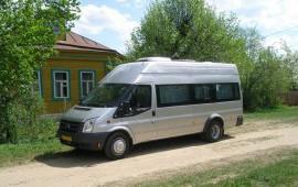 Аренда микроавтобуса Форд-транзит