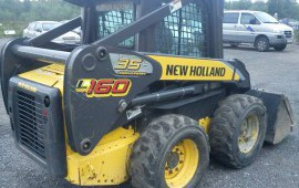 Мини-погрузчики New Holland