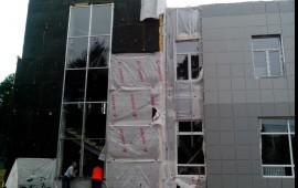 Фасадные и отделочные работы