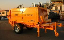 Продажа стационарных бетононасосов Cifa