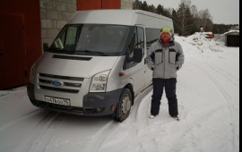 Аренда микроавтобуса Ford transit и Toyota Hais