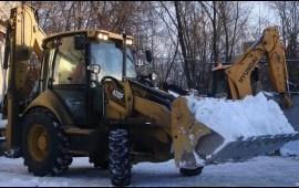 Уборка и погрузка снега*услуги*Москва*область