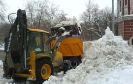 Уборка и вывоз снега 24ч*Москва*Область*