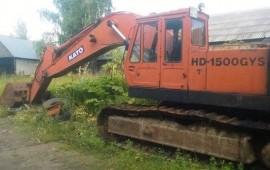 Аренда экскаватора КАТО HD-1500 GUS Сыктывкар