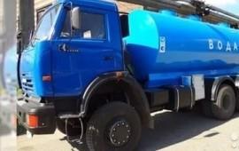 Доставка воды водовозом 7.5 кубов
