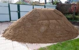 Строительный желтый белый песок
