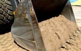 Песок речной в мешках. Доставка