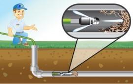 Гидродинамическая прочистка труб, телеинспекция