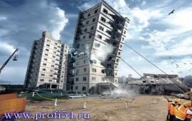 Демонтаж зданий и снос бетонных сооружений