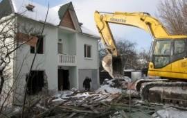 Демонтаж зданий любого уровня, снос зданий