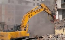 Демонтаж и подготовка стройплощадки