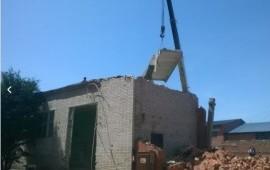 Снос, зданий демонтаж