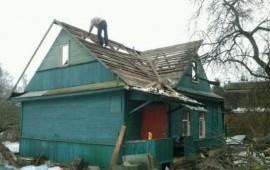 Разбор ветхих строений, Снос, демонтаж домов