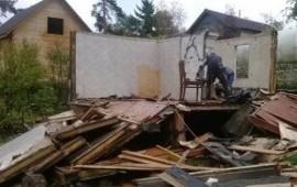 Снос и демонтаж ветхихстроений зданий