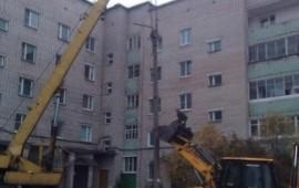Демонтаж домов, строений, конструкций