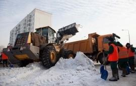 Услуги мксм и самосвала для уборки и вывоза снега