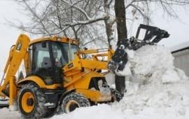 Уборка и вывоз снега (аренда погрузчика, трактора)