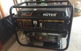 Сдаю в аренду бензиновый генератор Huter DY8000LX