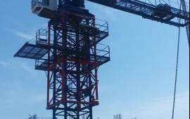 Услуги башенного крана QTZ-125А