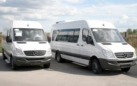 Прокат автобуса Mercedes-Benz Sprinter 20 мест
