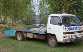 Эвакуатор isuzu ELF 1996