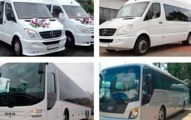 Заказ автобосов и микроавтобусов