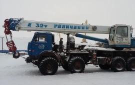 Аренда - услуги автокрана г/п 16-25-32 тонны