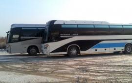 Аренда экскурсионных  автобусов от 20 до 60 мест