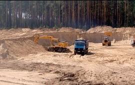 Песок щебень ПГС от карьера 20м3 *Москва*область