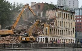 Профессиональный демонтаж зданий металосооружений