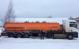 Перевозка светлых нефтепродуктов/бензовозы.