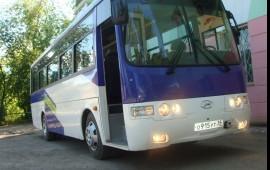 Заказ автобусов, перевозка детей
