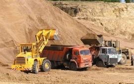 Доставка песка,щебня,чернозёма,керамзита от 1 м3.