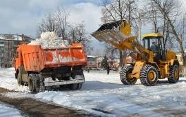 Комплексная уборка снега+вывоз. НЕ ДОРОГО!