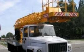 Заказ автовышки телескопа 18 метров