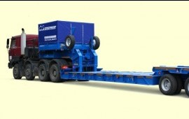Перевозки негабаритных грузов по России