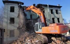 Демонтаж зданий снос домов