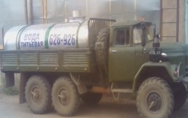 Доставка воды водовозом