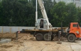 Автокран 25 тонн 32 метра