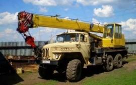 Автокран вездеход 14 тонн