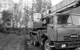 Аренда автокрана Ивановец КС-45717 г/п 25 тонн