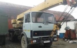 Услуги автокрана в г. Новоуральске и области